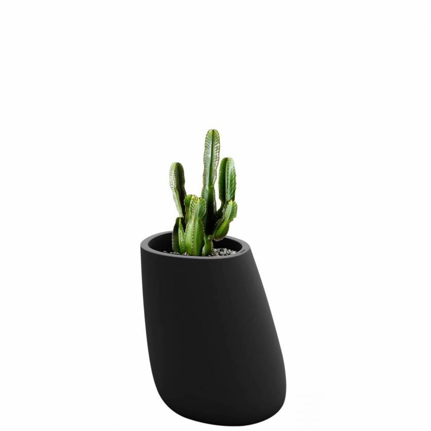 Pot de fleur outdoor STONES / H. 70 cm / Anthracite