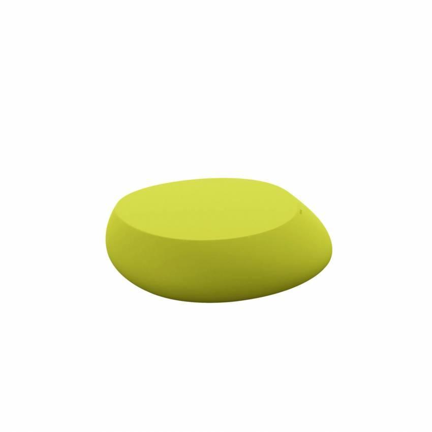 Table basse outdoor STONES / H. 25 cm / Vert