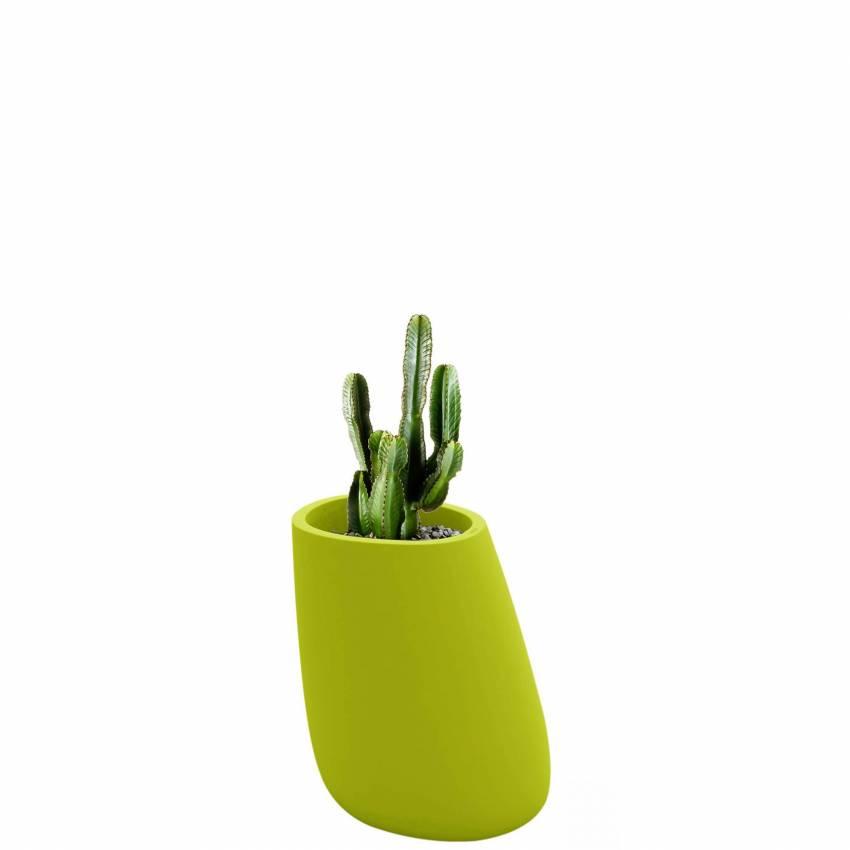 Pot de fleur outdoor STONES / H. 70 cm / Vert