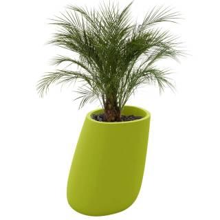 Pot de fleur outdoor STONES / H. 1 m / Vert