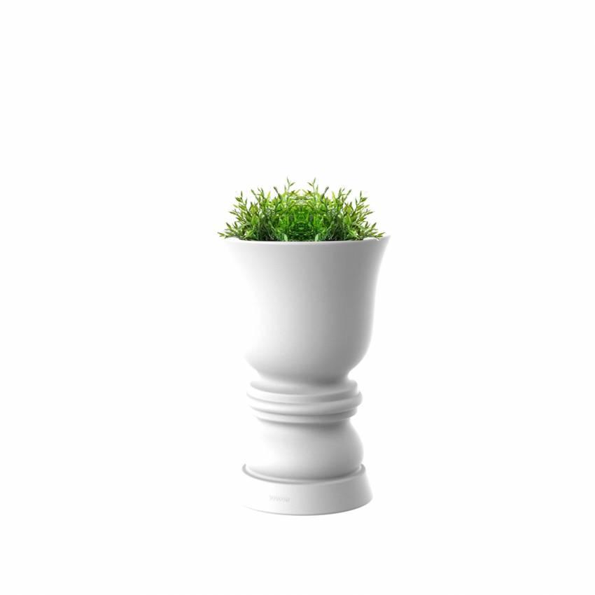 Pot de jardin SUAVE / H. 65, 100 ou 150 cm / Blanc