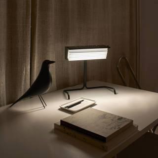 AMELIE Lampe de bureau BINY / H. 32,5 cm / Noir et Blanc