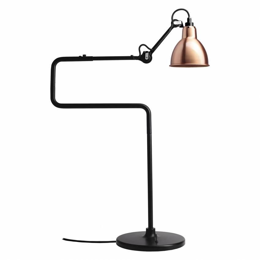 Lampe GRAS / H. 65 cm / Bronze