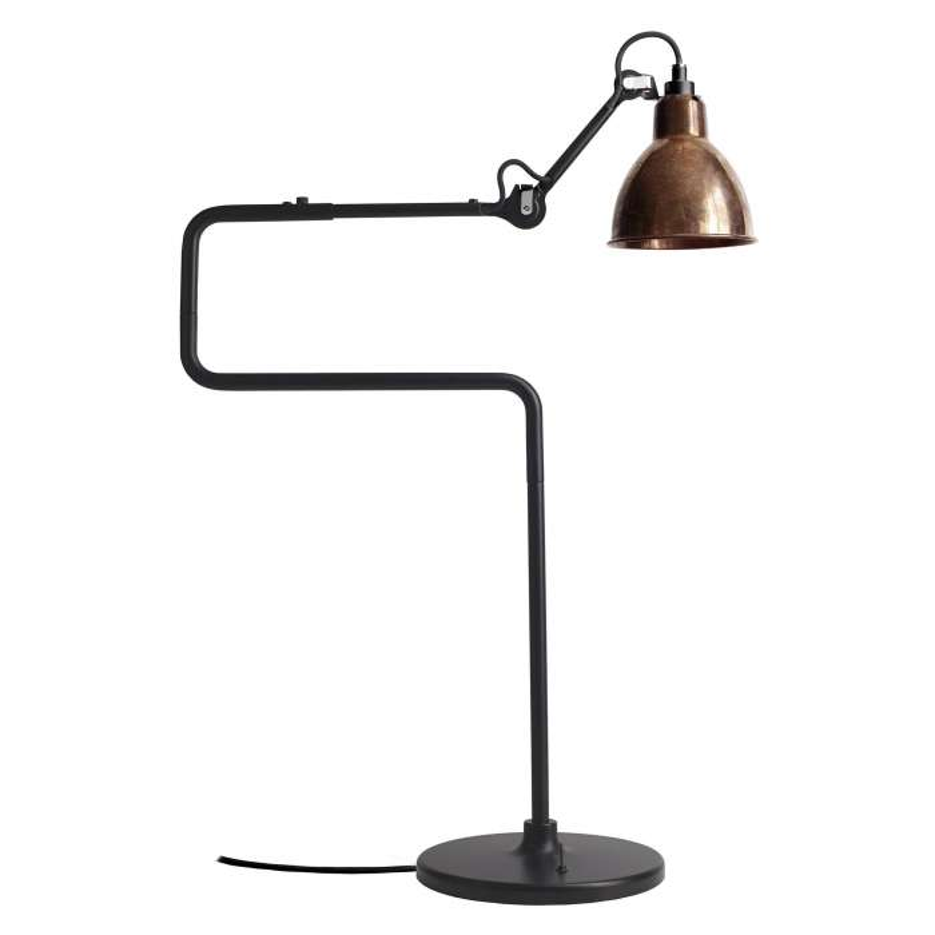 Lampe GRAS / H. 65 cm / Laiton Vieilli