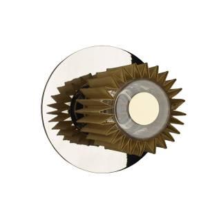 Applique et plafonnier IN THE SUN / Ø 19, 27 ou 38 cm / Argent et Doré