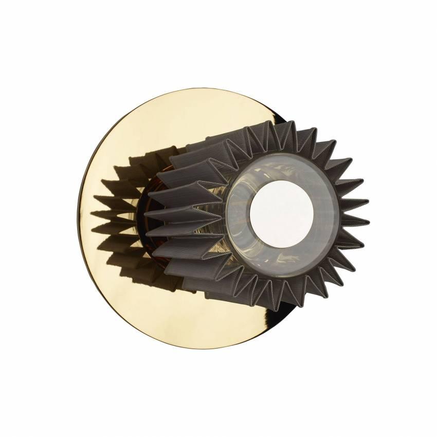 Applique et plafonnier IN THE SUN / Ø 19, 27 ou 38 cm / Doré et Argent