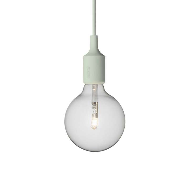 Suspension E27 by MUUTO / Vert d'eau