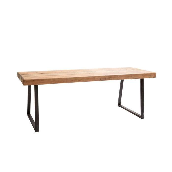 Banc WOOD BENCH IKAN / L. 1,20 m / Bois Recyclé