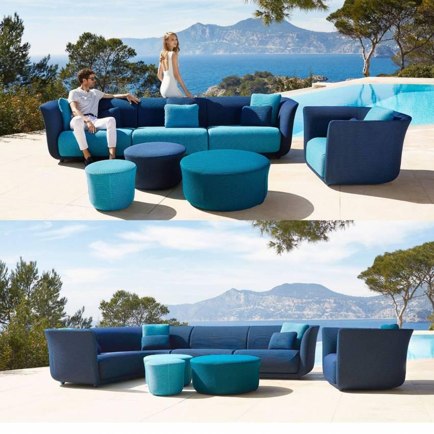 Canapé modulable SUAVE / Bleu