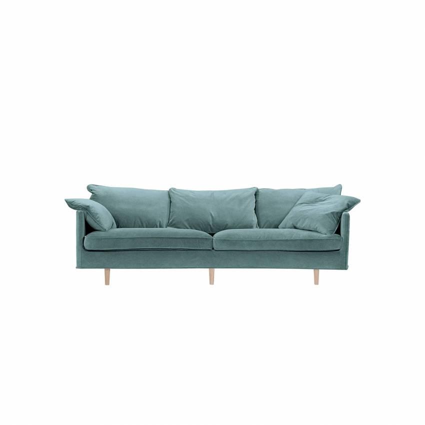 Sits / Canapé JULIA / 2 ou 3 places / Tissu Malibu velours - 3 coloris
