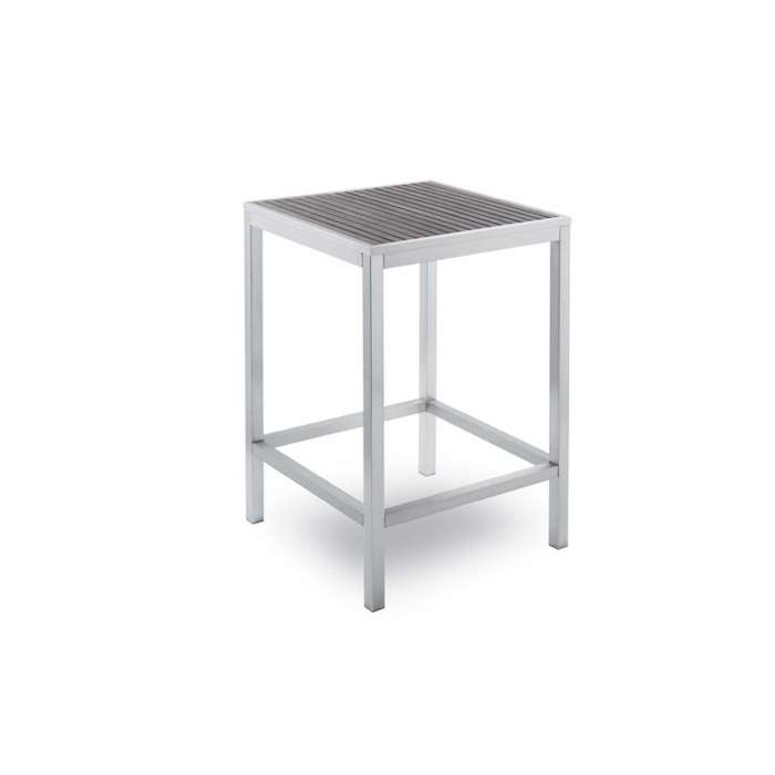 Table haute outdoor BAVARIA / H. 1,10 m / Gris