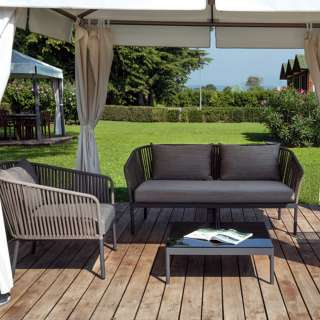 Table basse de jardin BERGEN / H. 28 cm