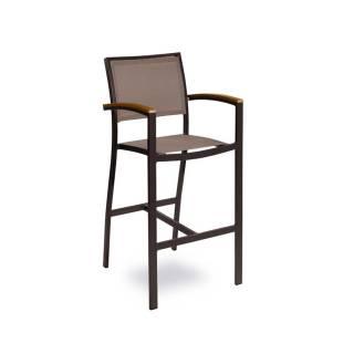 Table basse d'extérieur MEDITEX / H.45 cm / Taupe