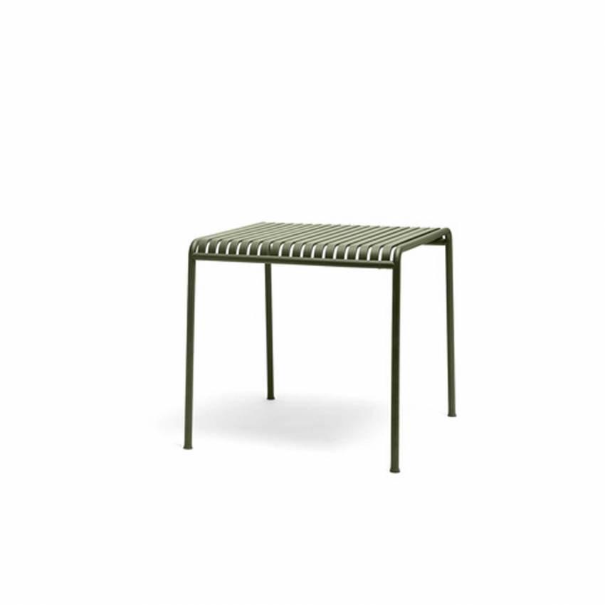 Table d'extérieur PALISSADE / 2 dimensions / Olive