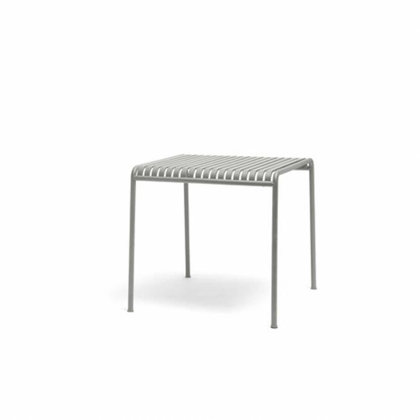 Table d'extérieur PALISSADE / 2 dimensions / Gris Ciel