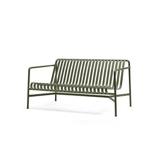 Canapé d'extérieur PALISSADE / L. 1,39 m / Olive
