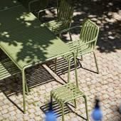 Tabouret PALISSADE / H. 45 cm / Olive