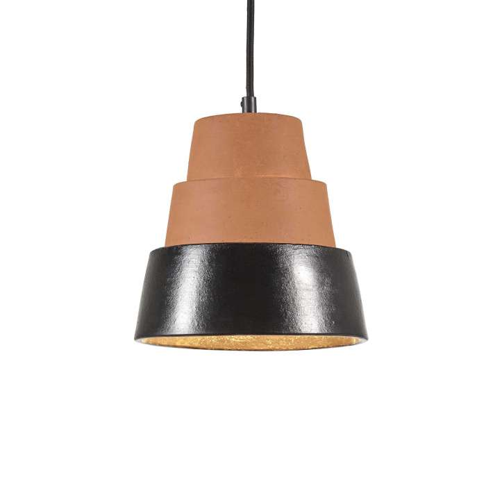 Suspension TOSCANA / Terracotta et Noir / Serax