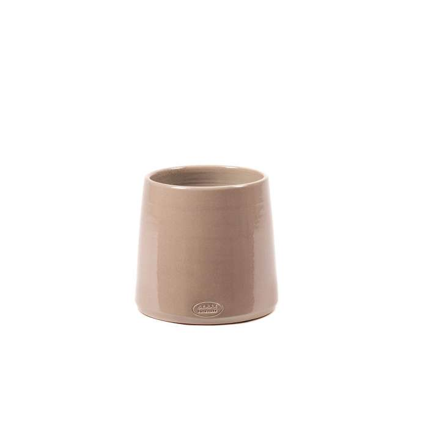 Cache-pot de fleurs GLAZED SHADES CONE / 4 dimensions / Rose