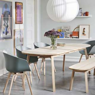 Table TRIANGLE / L. 2 m / Chêne Savonné