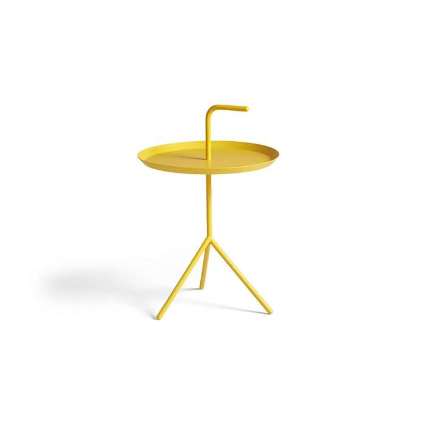 Table basse DLM  / Ø 38 cm / Jaune Soleil