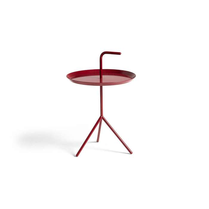 Table de salon DLM / Ø 38 cm / Rouge Cerise