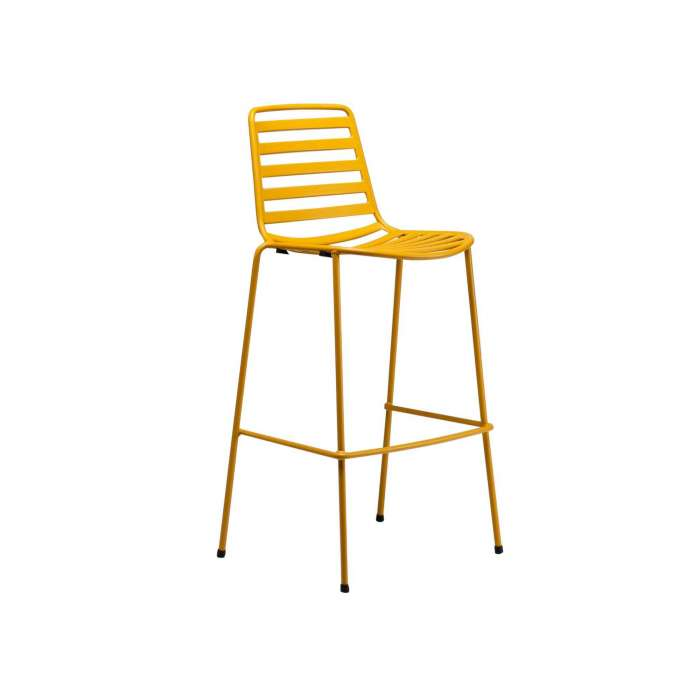 Tabouret outdoor STREET / H. assise 76 cm / 12 coloris