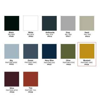 Tabouret outdoor STREET / H. assise 76 cm / 12 coloris