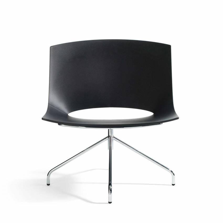 Siège Oh! / H. assise 40 cm / Noir