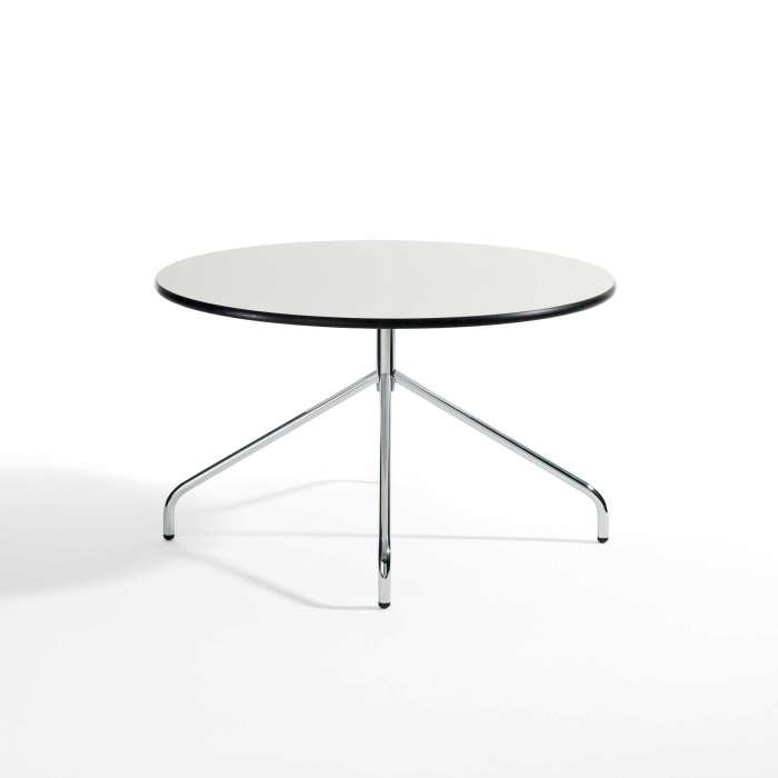Table ronde Oh! / H. 42 cm / Blanc