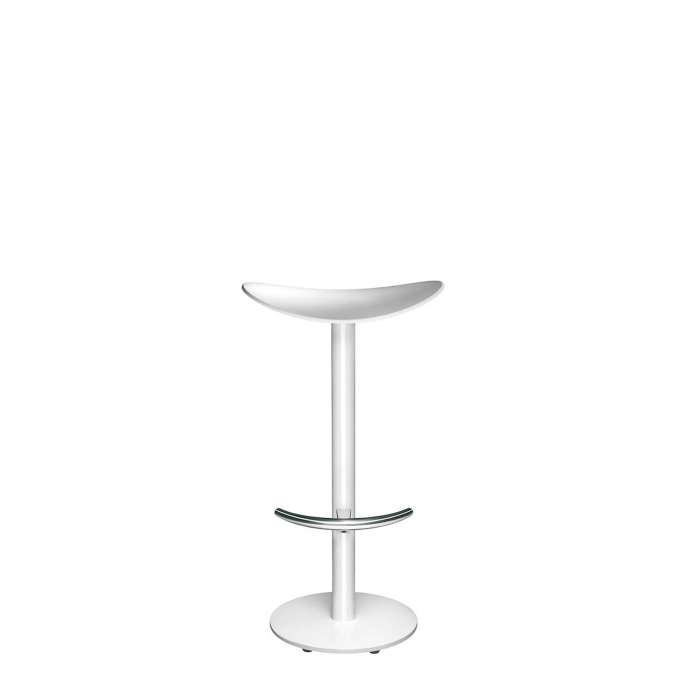 Tabouret COMA / 3 dimensions / Blanc