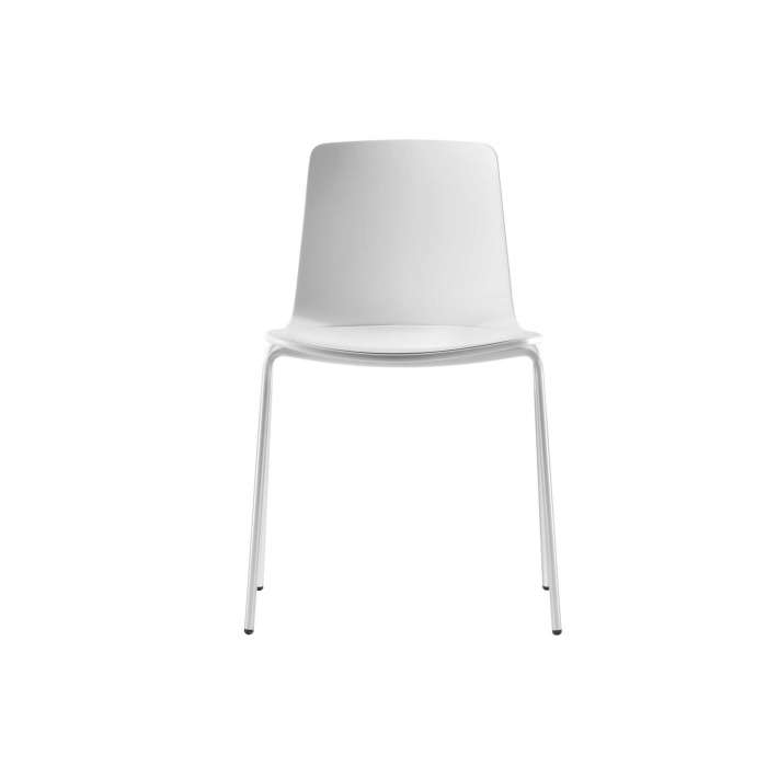 Chaise LOTTUS / H. assise 46 cm / Blanc