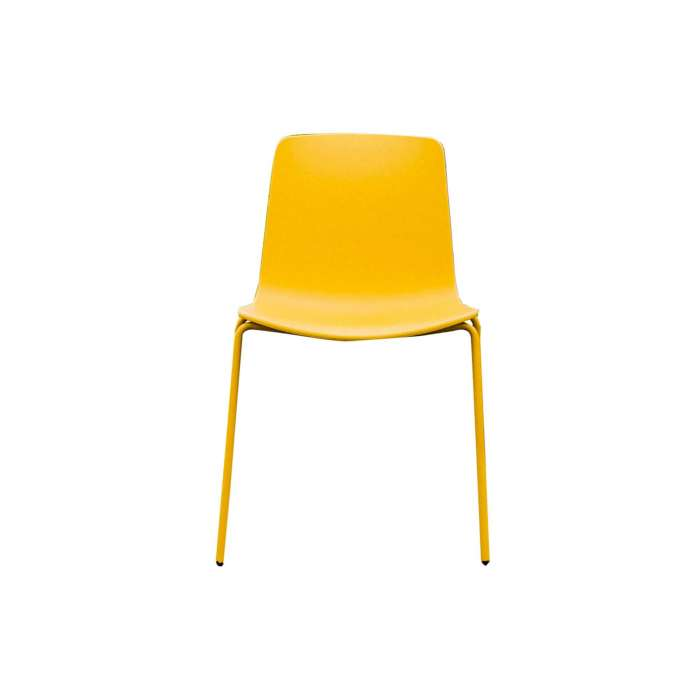Chaise LOTTUS / H. assise 46 cm / Jaune
