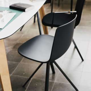 Chaise LOTTUS SPIN / H. assise 46 cm / 12 coloris