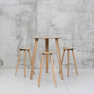 Table haute LTS / H. 90 cm ou 1,10 m / 14 modèles