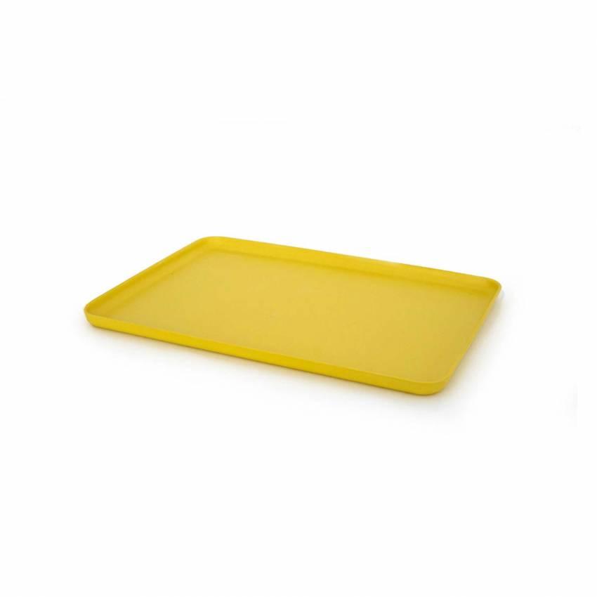 Plateau Moyen / 32 x 22 cm / Bambou Jaune Lemon