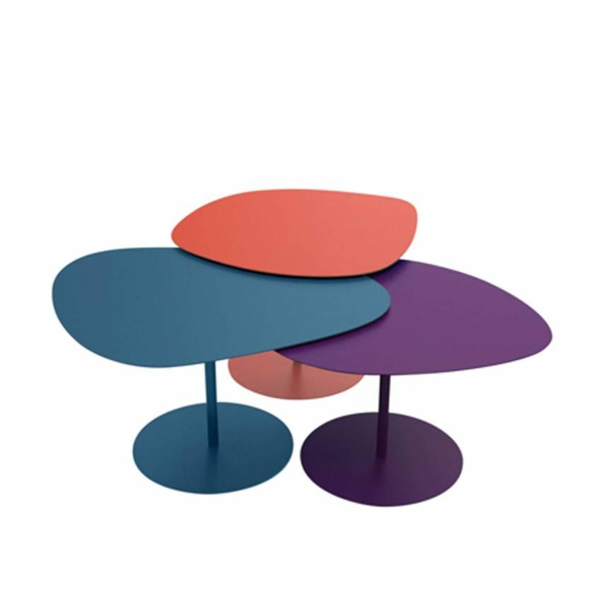 Tables basses GALETS /  Intérieur / Brique, Rose, Bordeaux