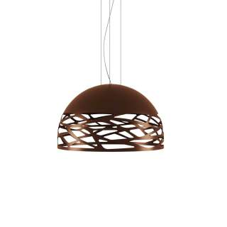 Suspension KELLY demi-sphère Medium / Bronze / Lodes – Studio Italia