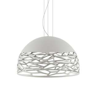 Suspension demi-sphère KELLY L / Blanc / Lodes – Studio Italia