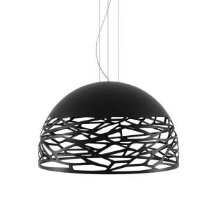 Suspension Large KELLY demi-sphère / Noir / Lodes – Studio Italia