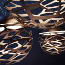 Suspension KELLY Dome bronze - Luminaire Studio Italia