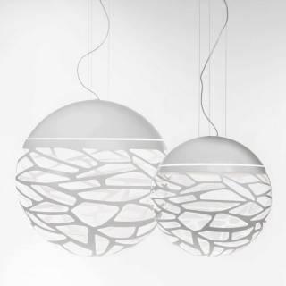 Suspension KELLY sphère Medium / Blanc / Lodes – Studio Italia