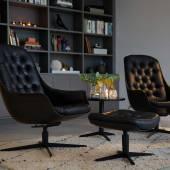 Tendance Home & Style / Sits / Noir