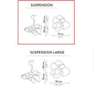Suspension ETOILE Ø 73 cm / Blanc / Slamp