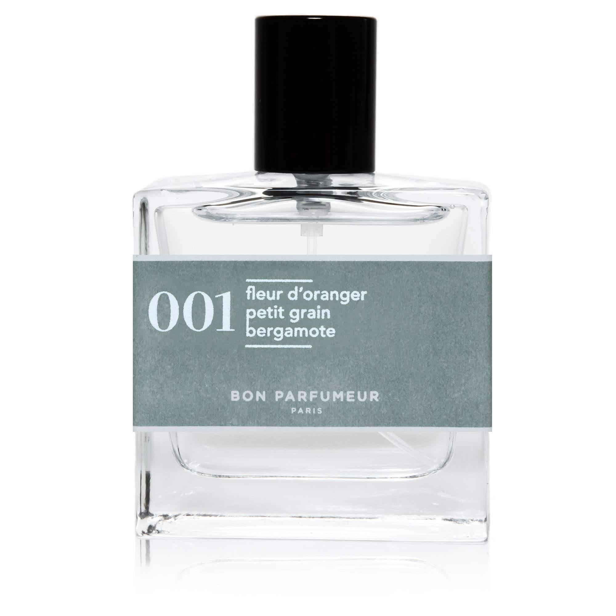 Eau de parfum 001 / Fleur d'Oranger et Bergamote / Bon Parfumeur