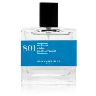 Eau de parfum 801 / Embrun, Cèdre et Pamplemousse / Bon Parfumeur