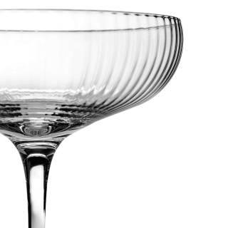 Coupe de champagne INKU 15 cl / Transparent / Serax