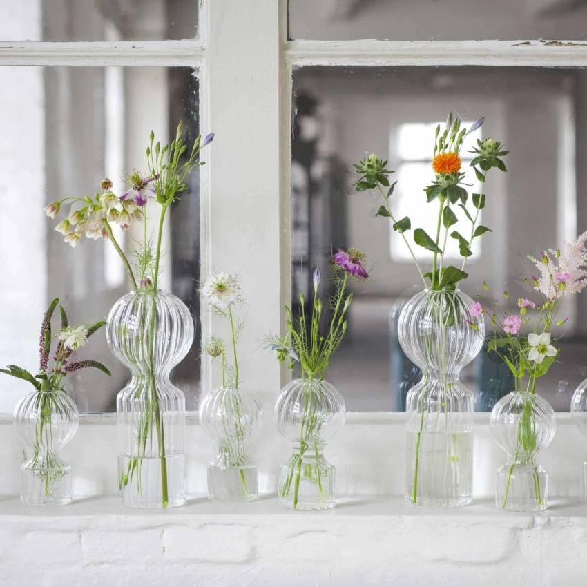 Petit vase IKI DOLL en verre résistant / Serax