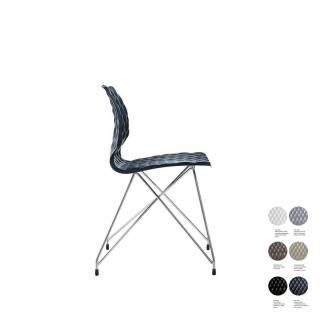 Chaise UNI 553 / Anthracite – Pied Chrome / Et al.