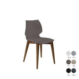 Chaise d'intérieur UNI 562 / Marron – Bois / Et al.